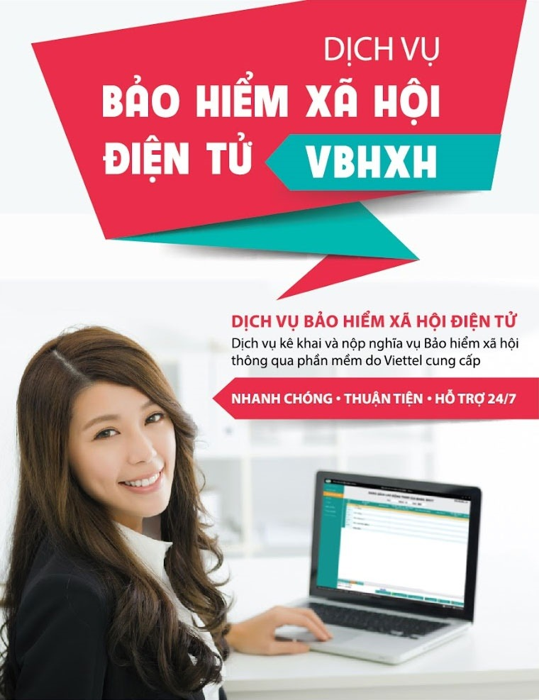 Phần mềm vBHXH Viettel