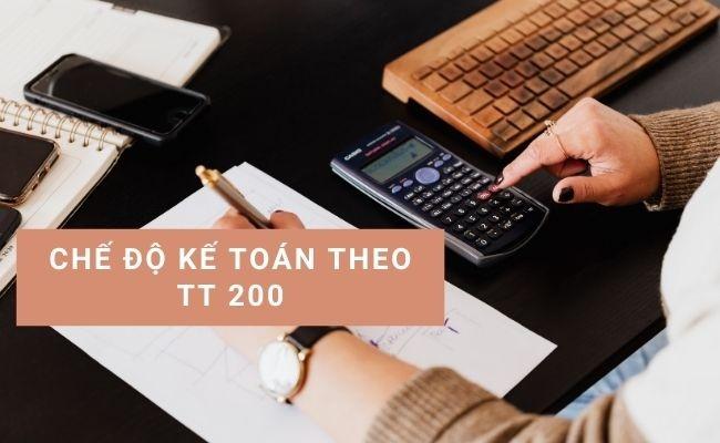Chế độ kế toán TT 200