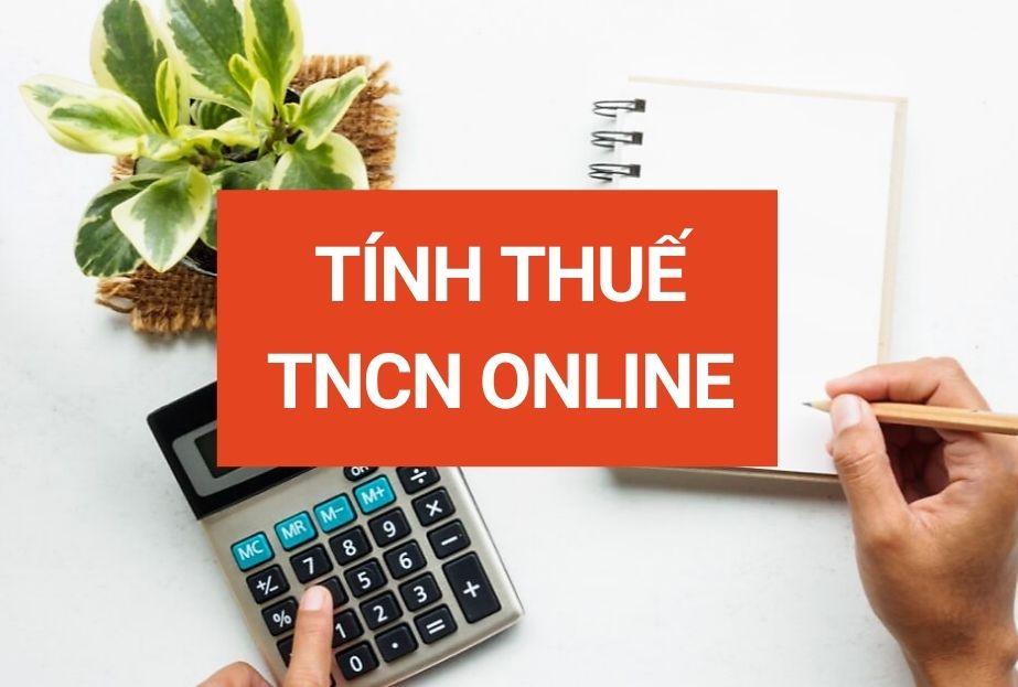 tính thuế tncn online