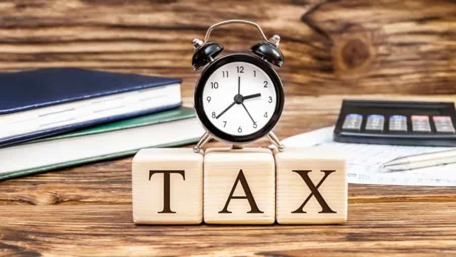 Mức phạt chậm  nộp tờ khai thuế